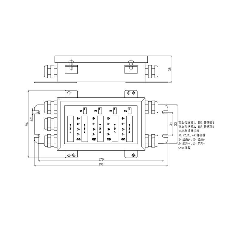 JB-054S不锈钢接线盒(型号:JB-054S)
