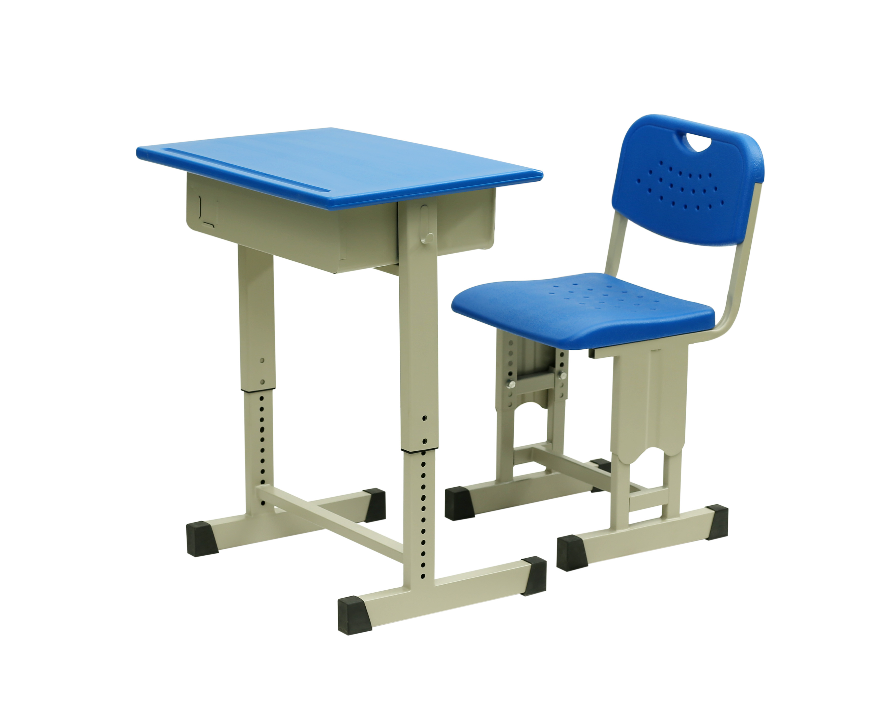 可调节课桌椅(塑胶板)