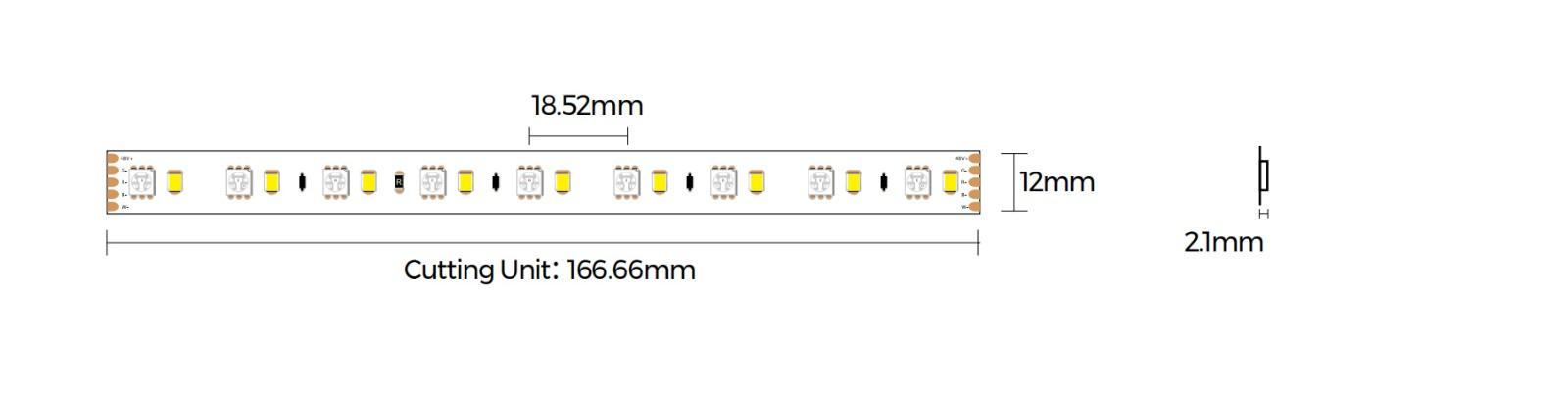 DS554RGBW-48V-12mm