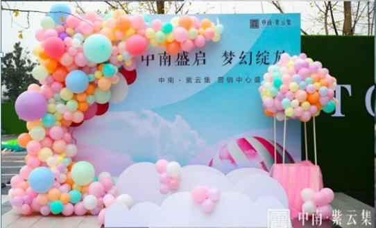 中南紫云集-营销中心开放