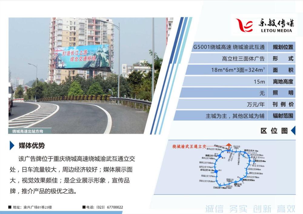 重庆绕城高速广告