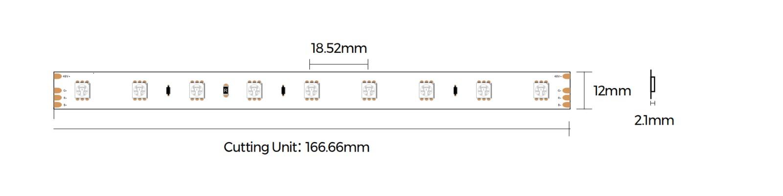 DS554RGB-48V-12mm