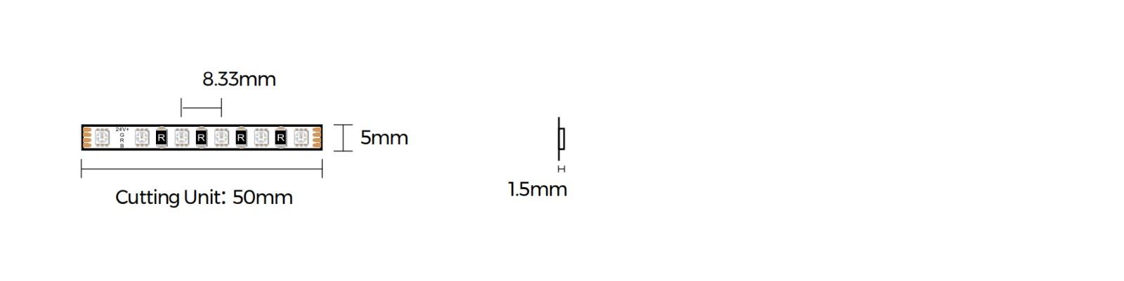 DA120RGB-24V-5mm