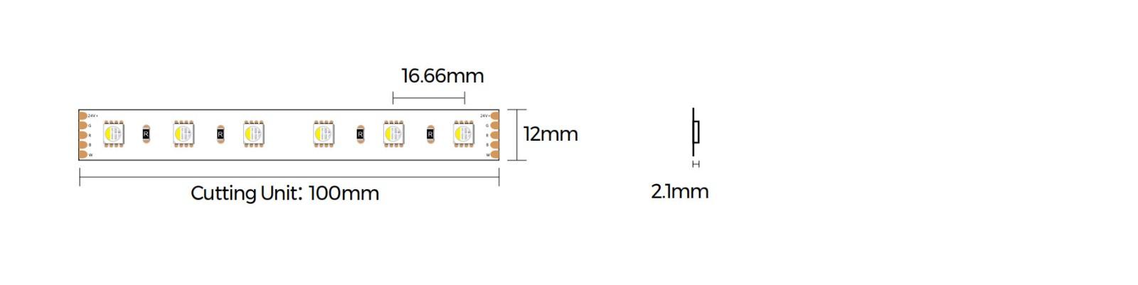 D560RGBW-24V-12mm