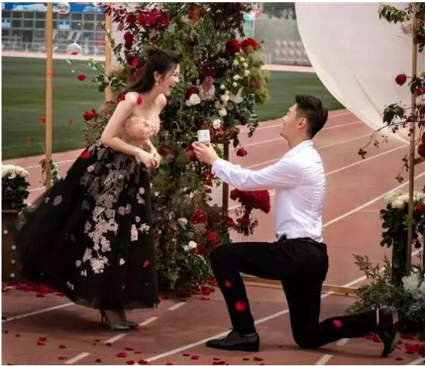 世界冠军张培萌520求婚成功!