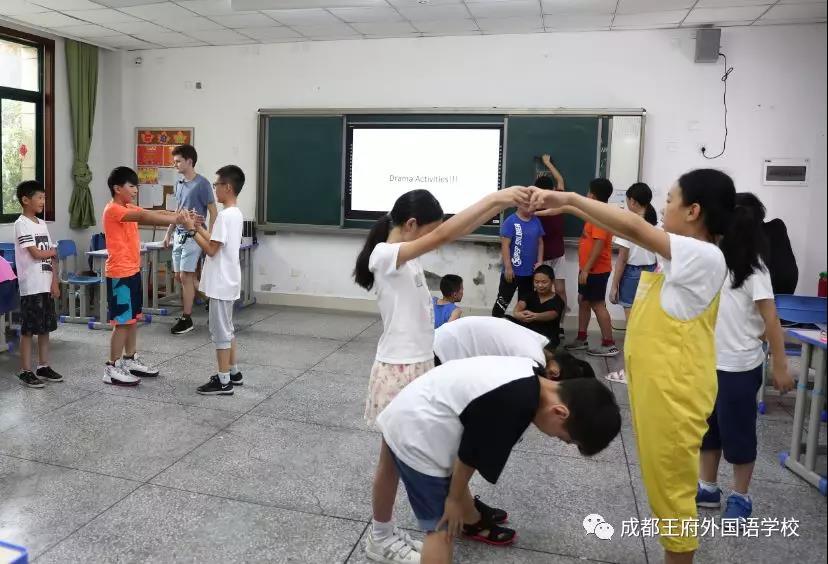 2019成都王府剑桥英语夏令营—特色课程篇