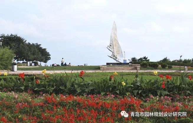 """""""青岛市东海路环境规划工程""""入选全国勘察设计行业庆祝新中国成立70周年系列推举活动优秀园林设计项目"""