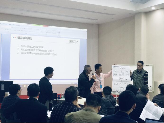 2019年12月1-2日, 广东某技术股份有限公司 《IPD与产品线及研发组织变革》内训成功举办