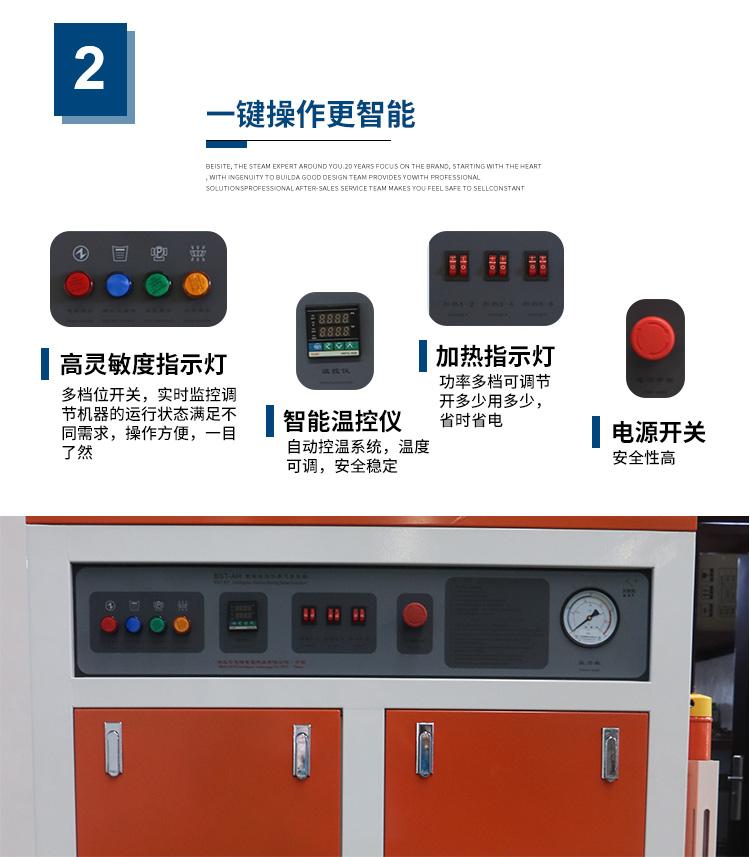 120kw-180kw AH全自動智能電蒸汽發生器