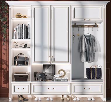 欧式鞋柜3d尺寸模型