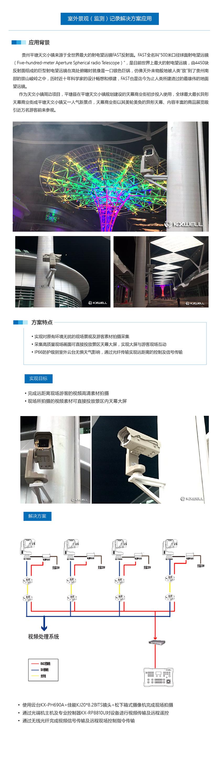 贵州平塘天文小镇商业街最大异形天幕
