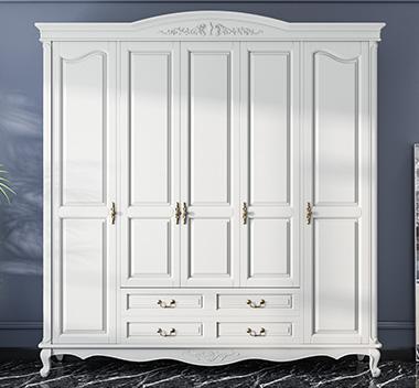 欧式衣柜3d尺寸模型