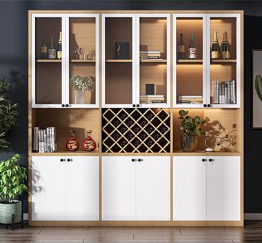 北欧酒柜3d尺寸模型
