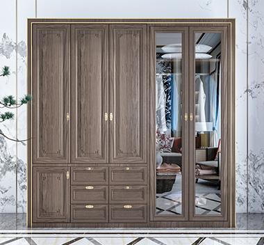 新中式衣柜3d尺寸模型