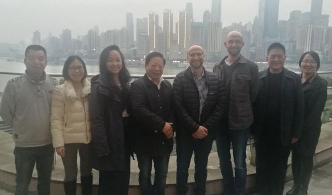 美國環保局代表團到重慶明珠考察關于單螺桿泵在環保沼氣行業的應用