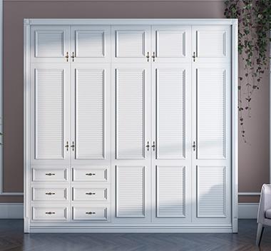 美式衣柜3d尺寸模型