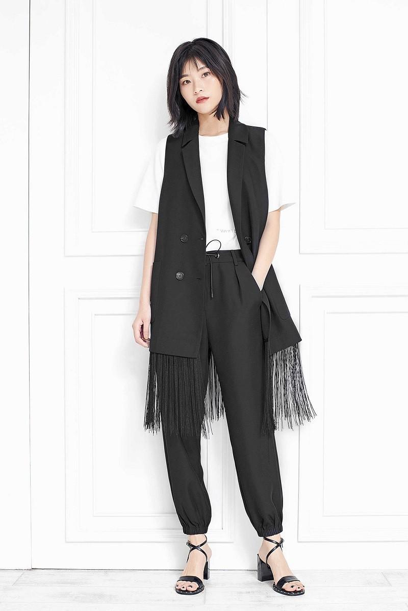 中时海创品牌女装折扣【白茶】20春装系列品牌上新