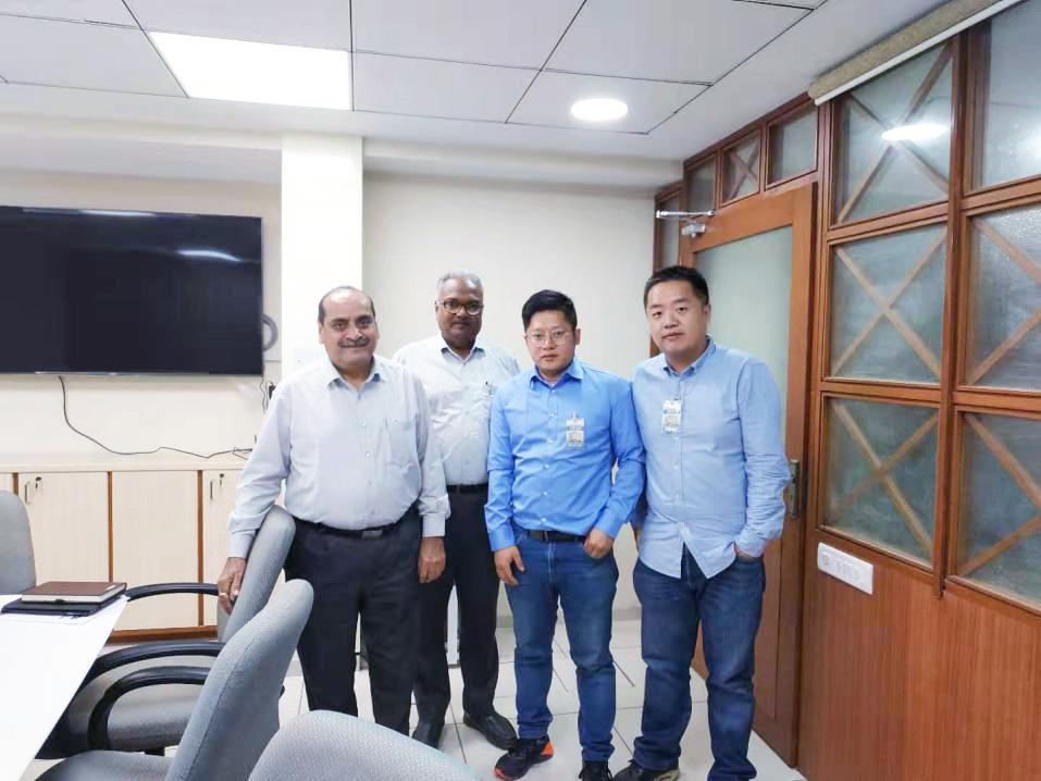 祝贺重庆博张2019年 印度市场访问圆满结束