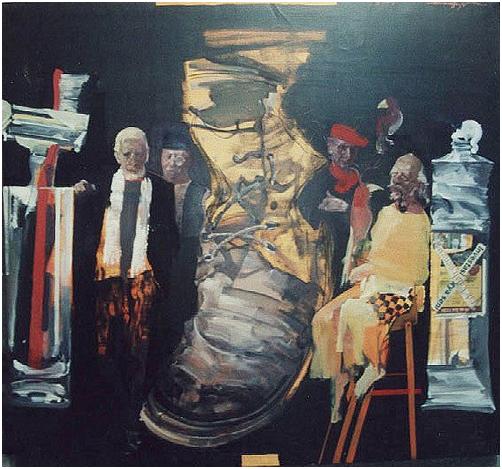 俞晓夫的海派油画