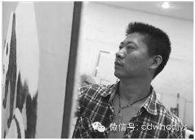 """【品读】王申勇与他笔下的""""国宝""""画作"""