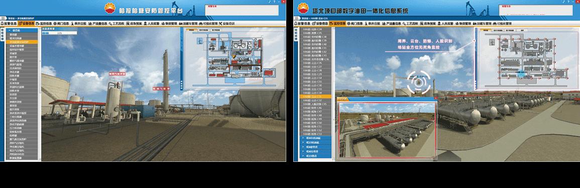 数字油田一体化信息系统