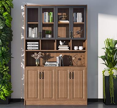 现代书柜3d尺寸模型