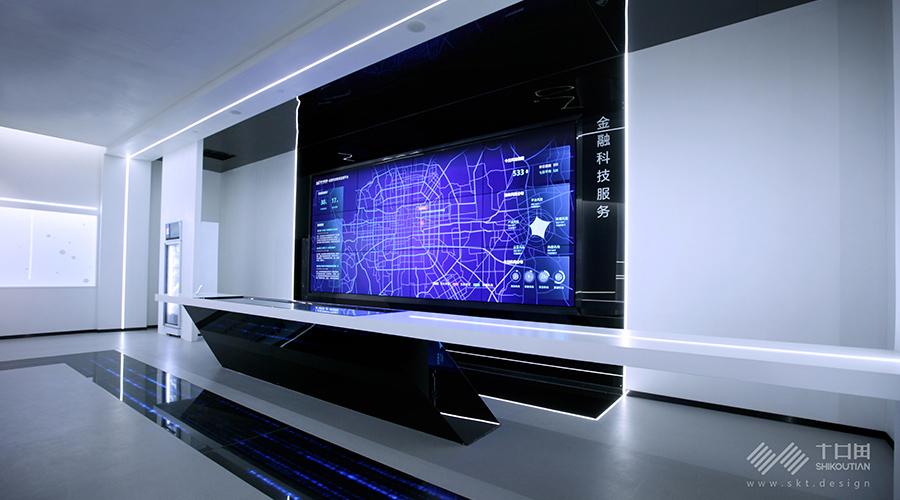《度小满金融展厅》——用科技升华设计