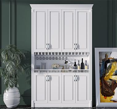 简欧酒柜3d尺寸模型