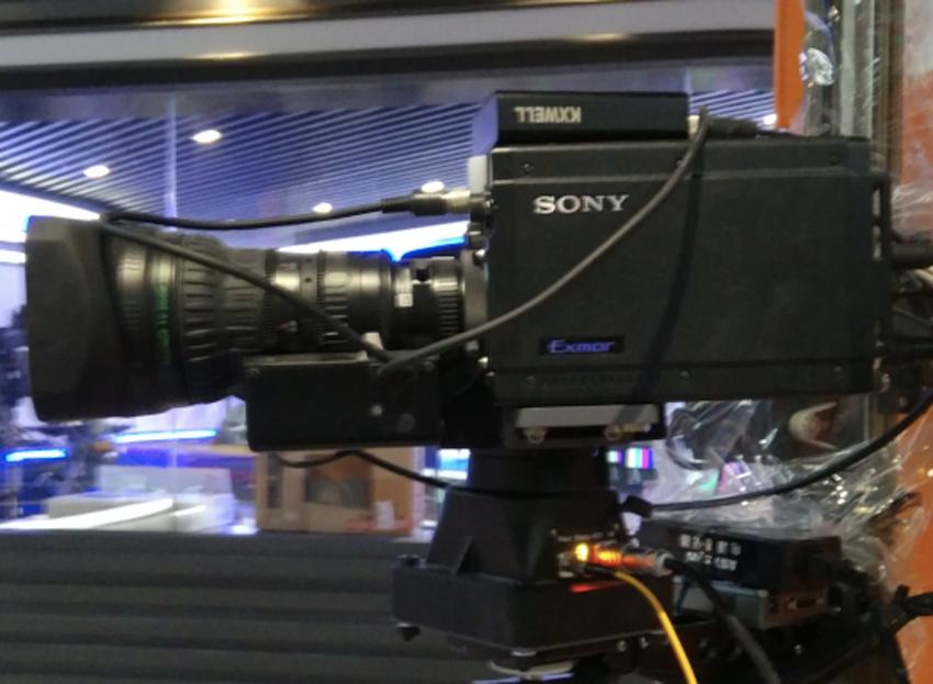 上海闵行电视台新闻演播室建设