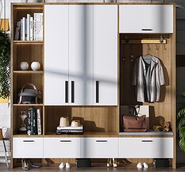 北欧鞋柜3d尺寸模型