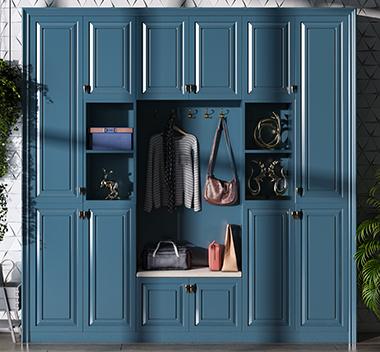 简欧鞋柜3d尺寸模型