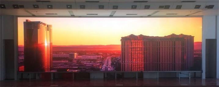 江门市文化馆展览厅LED高清显示屏专用P1.875租赁箱体