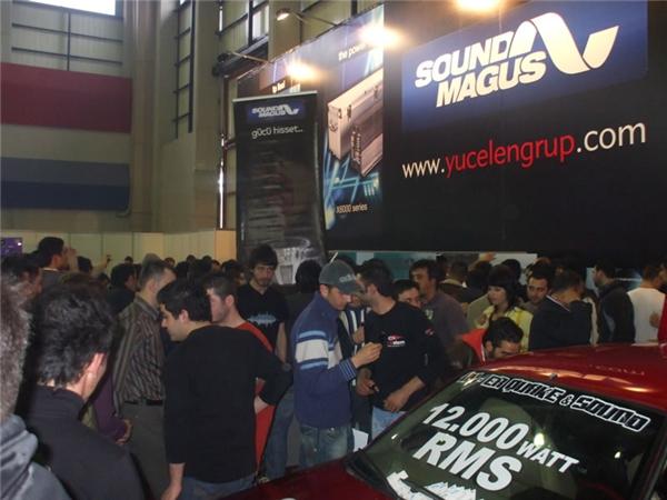 圣美歌在土耳其汽车音响展