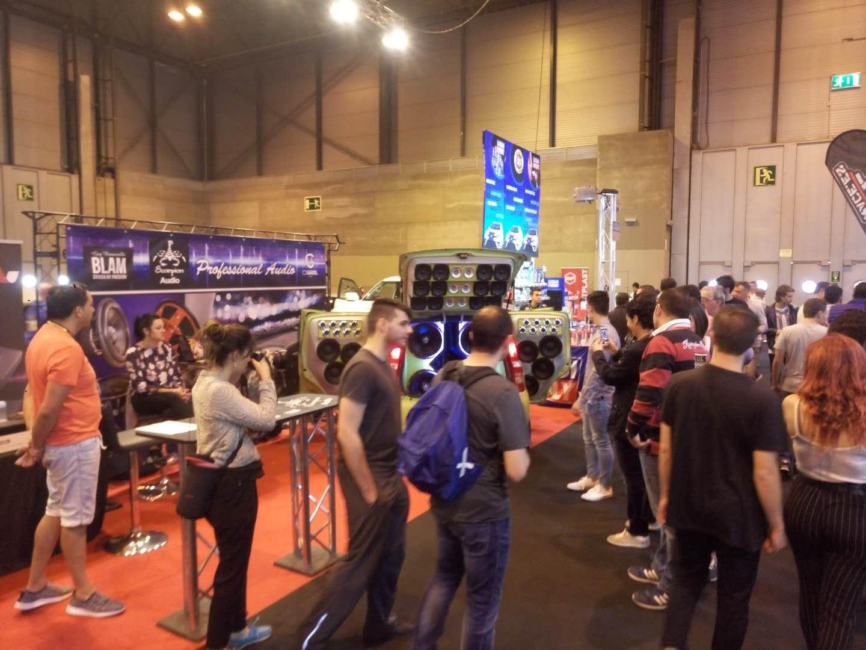 Soundmagus in the fair of Madrid, Spain.