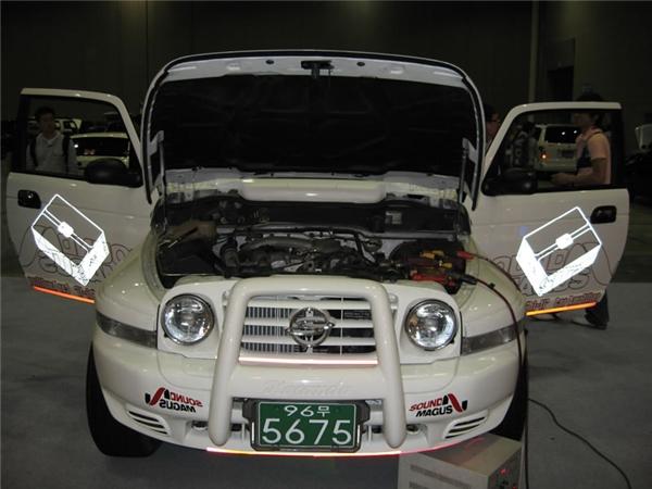 South Korea agent X3200 car