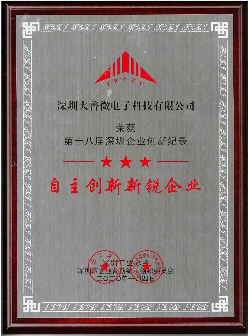 "DapuStor摘得""深圳企业创新(国际)纪录""等奖项"