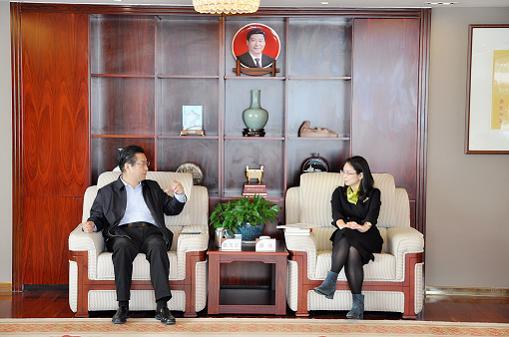 中国国际跨国公司促进会常务副会长、联合国和平大学校董张笑宇到访 中国银行深圳分行