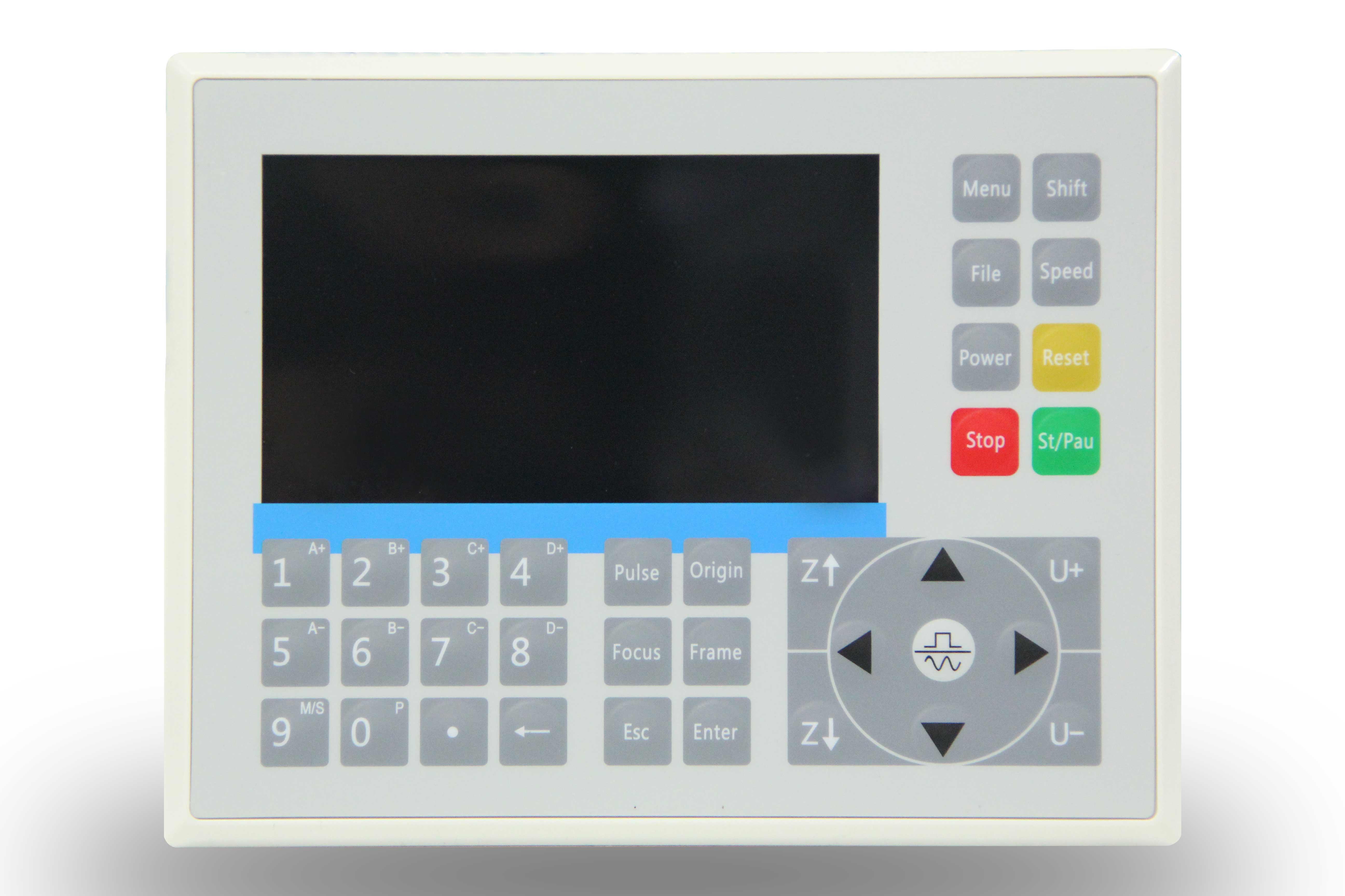 集成激光加工与喷胶(墨)一体的控制系统RDC6585PC
