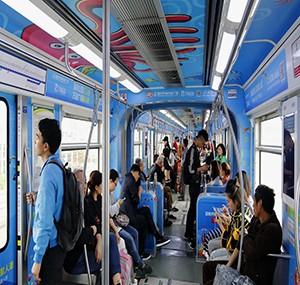 地铁主题车厢-《万达广场》