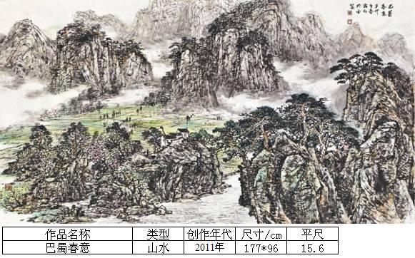 杨霜林26巴蜀春意