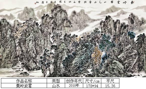 杨霜林28秦岭云雾
