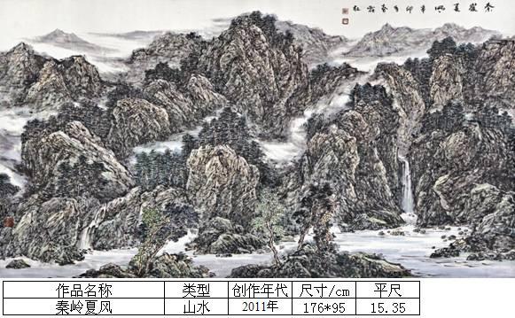 杨霜林30秦岭夏风