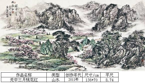 杨霜林38关中三月桃花红