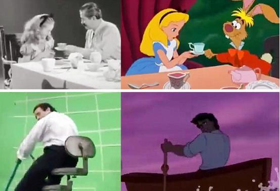 迪士尼为了使动画逼真,竟然上演真人动画!