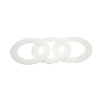 定制本色硅胶垫片O型圈 防水密封垫圈 防滑硅胶垫 透明圆形硅胶垫