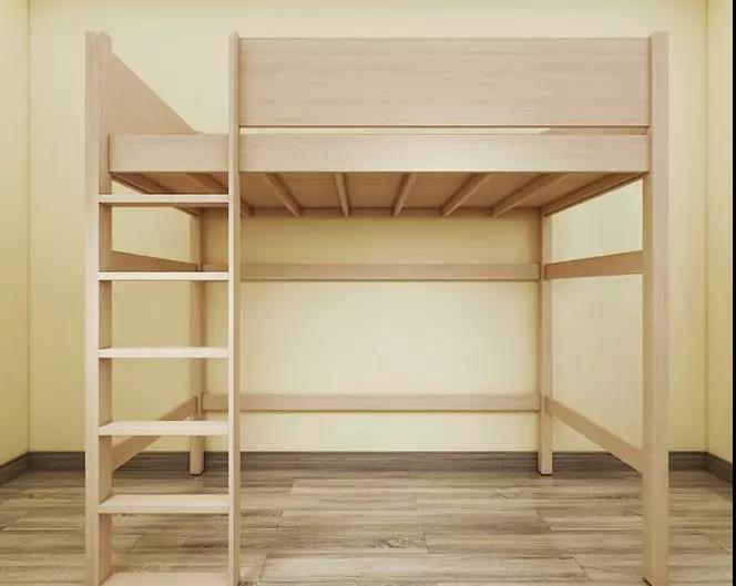 儿童房只有6㎡?半高床扩容神器了解一下