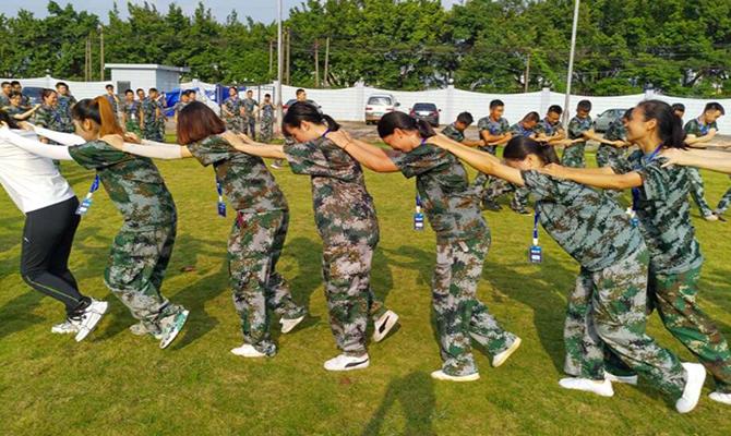 广州贝壳房地产经纪有限公司团队拓展训练