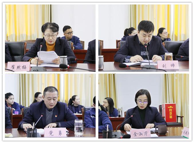 集团公司召开2019年度绩效考核会