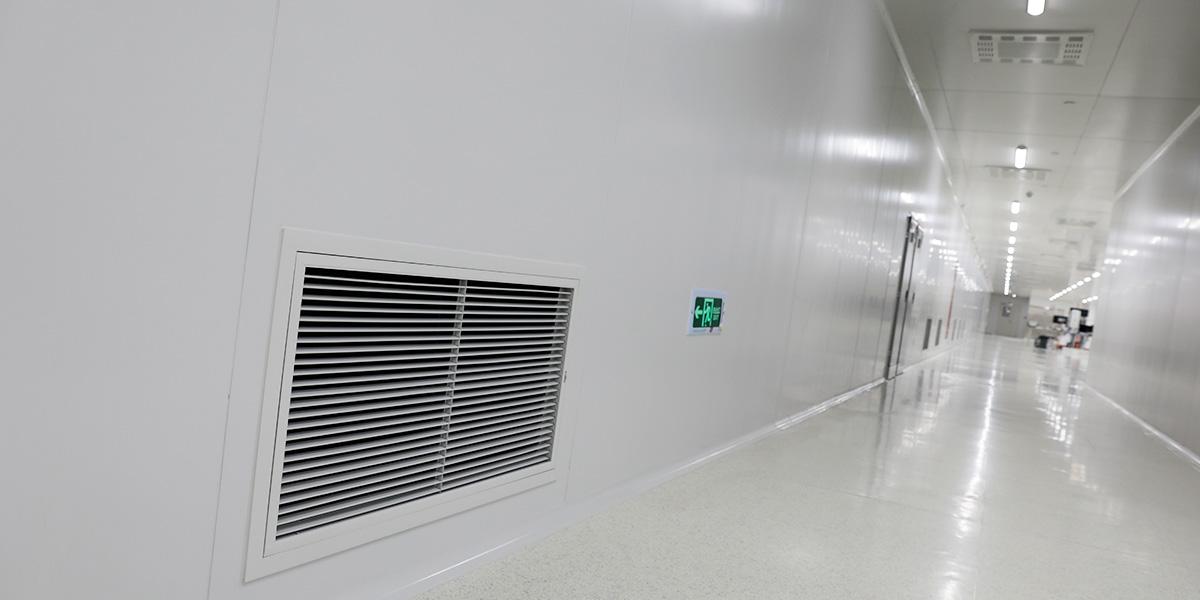 上海伊诺尔信息技术有限公司平方  装修面积3300  洁净室1800