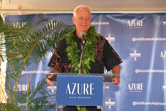 Groundbreaking ceremony for AzureAlaMoana building in Hawaii